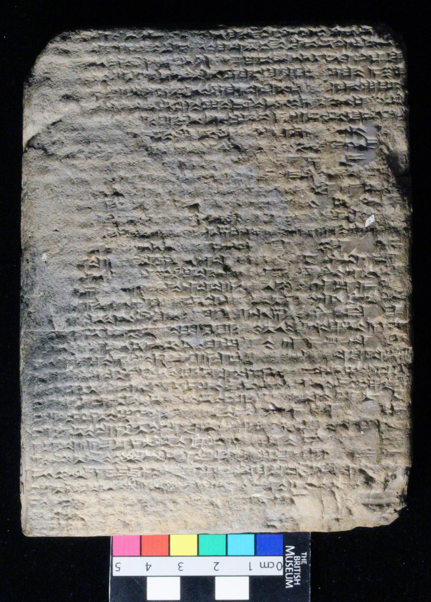 The latest datable Mesopotamian text commentary
